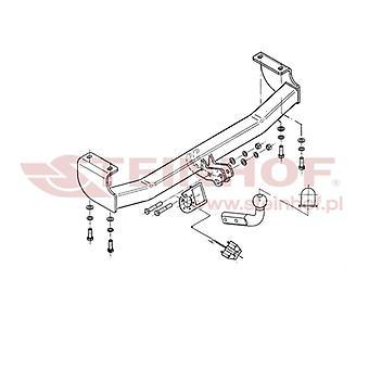 Steinhof Towbar (mocuje 2 śruby) dla Suzuki GRAND VITARA mk1 Cabrio 1998-2005