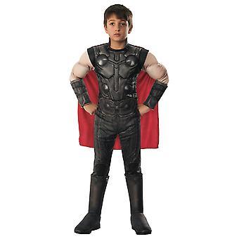 Thor Ragnarok Deluxe Avengers Endgame Marvel Superheld licentie Jongens Kostuum
