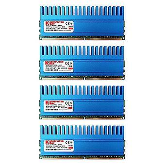 Komputerbay 16 GB (4x 4 GB) 240 Pin 800MHz PC2-6400/PC2-6300 modul DDR2 DIMM-minne