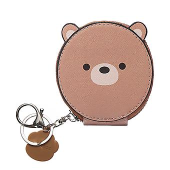 NIKI Coin Purse in Brown
