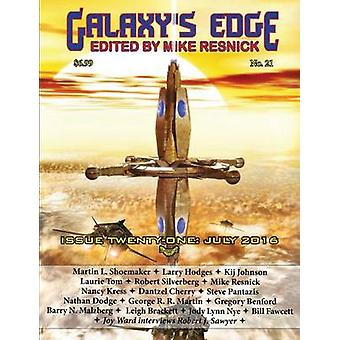 Galaxys Edge Magazine Issue 21 July 2016 by Resnick & Mike