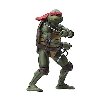 "NECA Teenage Mutant Ninja Turtles Raphael 1990 Movie 7"" Action Figure"