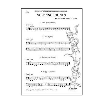 Stepping Stones: A First Book of 26 Pieces for Beginner Cellists with Piano Accompaniment