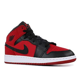 Air Jordan 1 Mid (Gs) - 554725-610 - Shoes