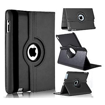 iPad Air-1 tilfelle Roterbar 360 °-svart
