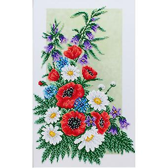 VDV Bead Embroidery Kit - The Bouquet of Wild Flowers