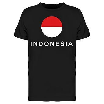 Bandeira indonésia Tee Men's -Imagem por Shutterstock