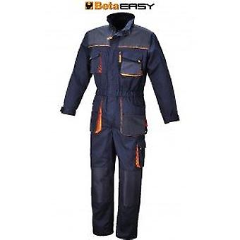 Beta 078750904 7875E /X/L X/Large Work Overalls Lightweight Blue