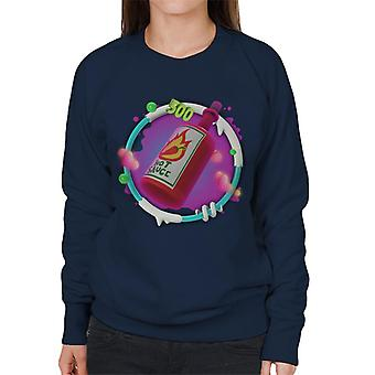 Angry Birds Hot Sauce 3D Badge Women's Sweatshirt