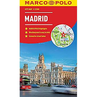 Madrid Marco Polo City Map by Marco Polo - 9783829759151 Book