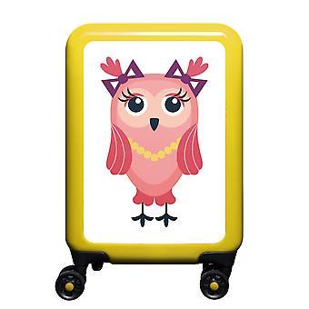 mytrolley owl S, 4 wheels, 55 cm, 32 L, yellow
