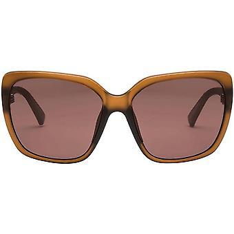 Electric California Super Bee Sunglasses - Matte Rose/Rose Pro