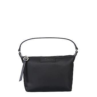 Longchamp 10039598001 Women's Black Polyester Shoulder Bag