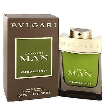 Homem Bvlgari madeira essência Eau De Parfum Spray por Bvlgari 3,4 oz Eau De Parfum Spray