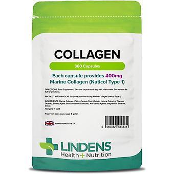 Lindens Marine Collagen 400mg Capsules 360 (4531)