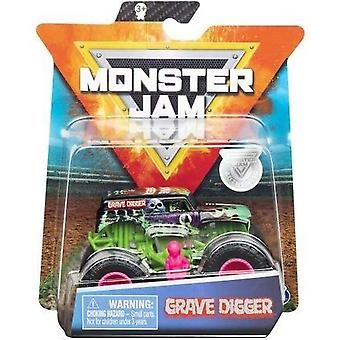 Monster Jam 1:64 Scale - Grave Digger