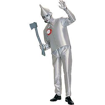 Trollkarlen från Oz Tinman Adult kostym