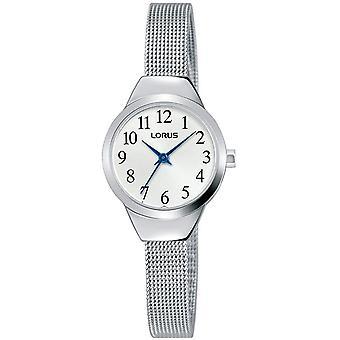 Lorus RG223PX-9 Silver Tone Mesh Wristwatch