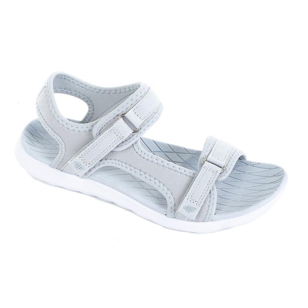 4F H4L20 SAD001 Chłodny Jasny Szary H4L20SAD001CHODNYJASNYSZARY universal all year women shoes sXWPT