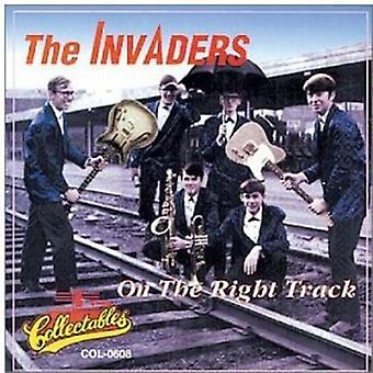 Invaders - On the Right Track [CD] USA import