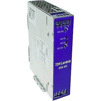 TDK-Lambda DDA250N-S1PX-12-001 DC/DC-omvandlare 12 V 20 A 250 W Nej. av utgångar: 2 x