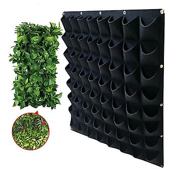 Pockets Planter Vertical Garden Vegetable Grow Bags, Seedling Wall Hanging