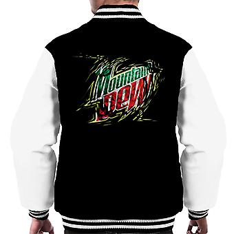 Mountain Dew Prism Design Men's Varsity Jacket