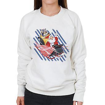 Pepsi Weihnachten Retro Flasche Santa Schlitten Frauen's Sweatshirt