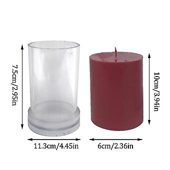 Silicone Mould For Candle Making - DIY Gypsum Plaster Mould Clay Resin Molds Aromatherapy Candle Mold