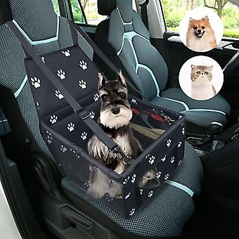 Folding Travel Car Carriers Bag For Dogs Cats - Waterproof Carrier Basket Cover For Pet