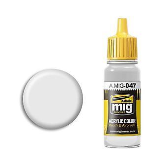 Ammo by Mig Acrylic Paint - A.MIG-0047 White (17ml)