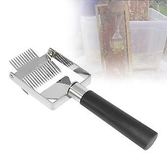 Bikube Honning Cutter Uncapping Skraber plast håndtag - Kniv Gaffel Skovl