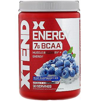 Xtend, Xtend Energy, 7G BCAA, Blue Raspberry Ice, 12.3 oz (348 g)