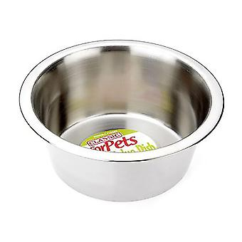 Classic Super Value Stainless Steel Dish - 475ml (135mm Diameter)
