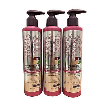Pureology Smooth Perfection Cleansing Conditioner 8,5 OZ Set von 3