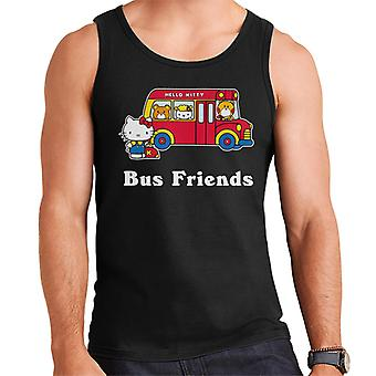 Hello Kitty Bus Friends Men's Vest