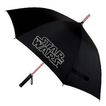 Star Wars Logo Black Light-Up Umbrella