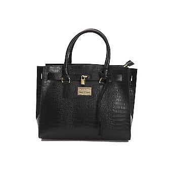 Pompei Donatella Nero Black Handbag PO667706