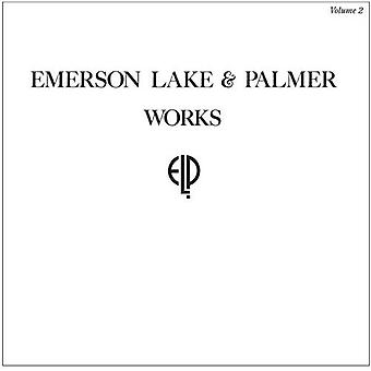 Emerson, Lake & Palmer - importazione di Works Volume 2 [Vinyl] USA