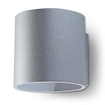 1 Light Up Down Wall Light Grey, G9