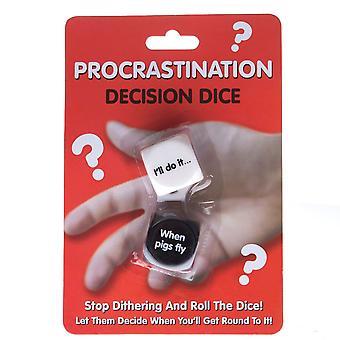 Decision Dice - Uitstelgedrag - Humoristisch cadeau item