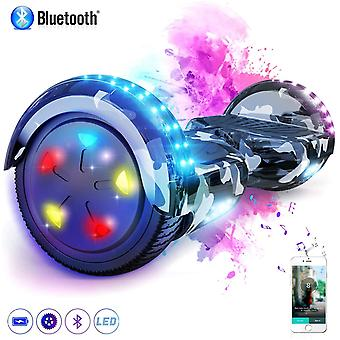 Self Balancing Scooter Bluetooth 6.5 pollici mimetica Segway CLASSIC HOVERBOARD Regalo per i bambini