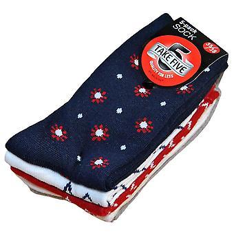 5-pack sokken 35/38