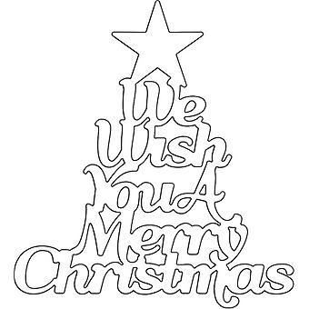 We Wish You a Merry Christmas Penny Black Creative Dies
