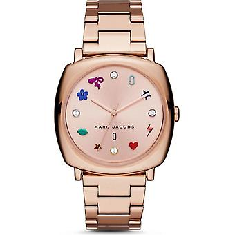 Marc Jacobs MJ3550  Mandy Rose Gold Stainless Symbol 34mm Women's Watch