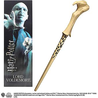 Lord Voldemort PVC Wand and Prismatic Bookmark by The Noble Collection