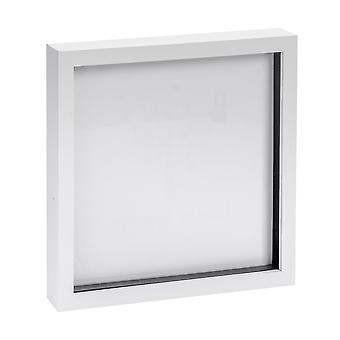 Nicola Spring Photo Frame - Akrylowa ramka (szklana pokrywa) - 20x20in - Biały