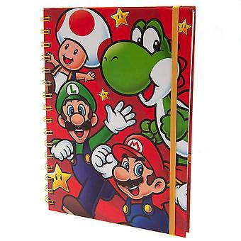 Super Mario Caractère Spiral Notebook