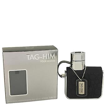 Armaf Tag-Eau De Toilette Spray por Armaf 3,4 oz Eau De Toilette Spray