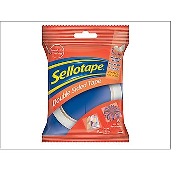 Sellotape Double Sided Tape 12mm x 3m 1589241